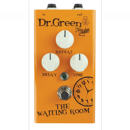 Dr. Green The Waiting Room Delay Pedal Guitar Effects Pedal